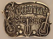 """Country Music"" laattasolki 40mm"