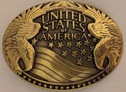 """United States"" laattasolki 40mm"