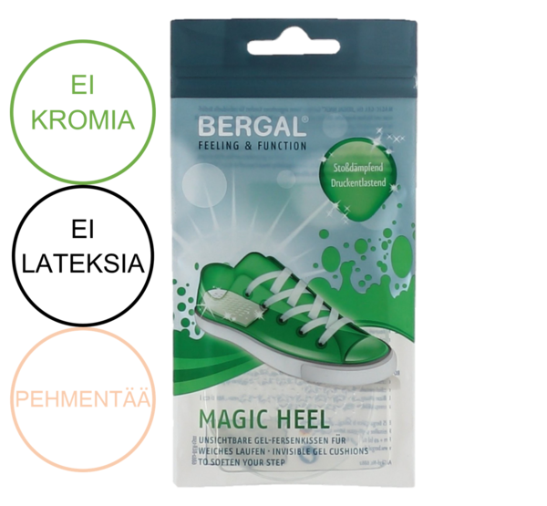 Bergal Magic Heel kantatyyny